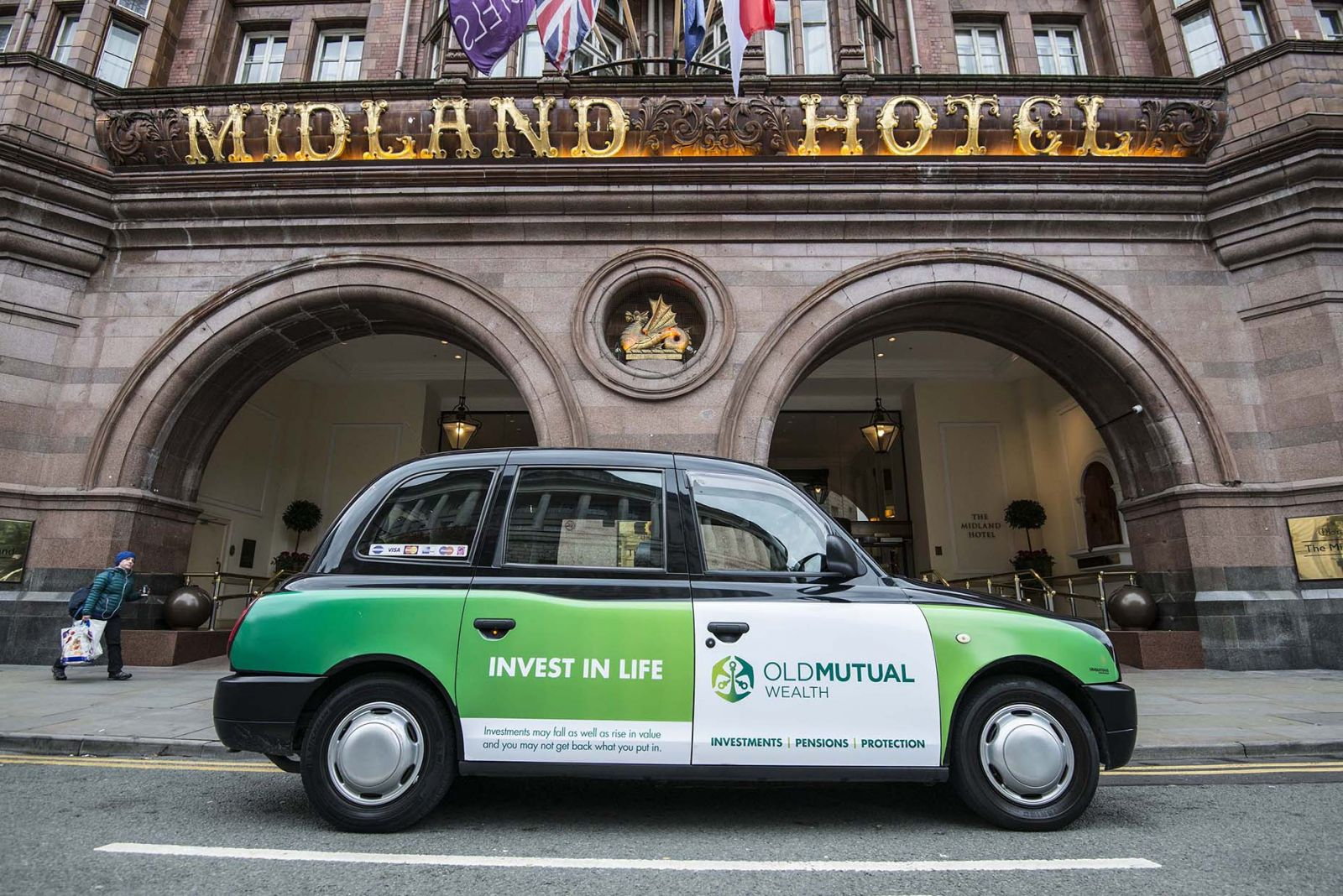 2016 Ubiquitous campaign for Old Mutual Wealth - Invest in life.