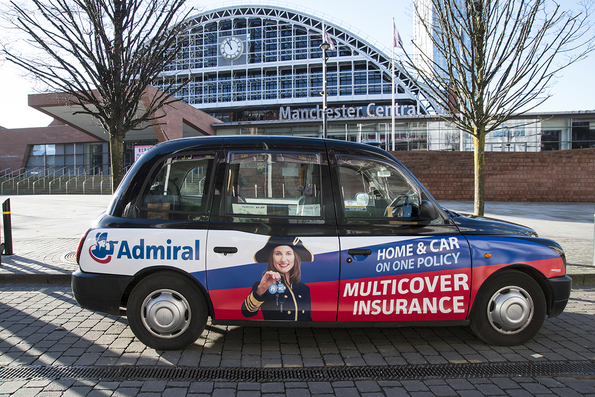2018 Ubiquitous campaign for Admiral Insurance - MULTICOVER INSURANCE