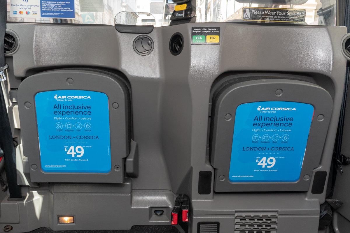 2018 Ubiquitous campaign for AIR CORSICA - LONDON TO CORSICA