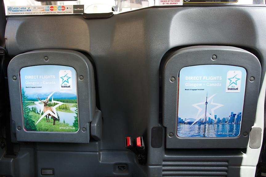 2017 Ubiquitous campaign for Glasgow Airport - Air Transat