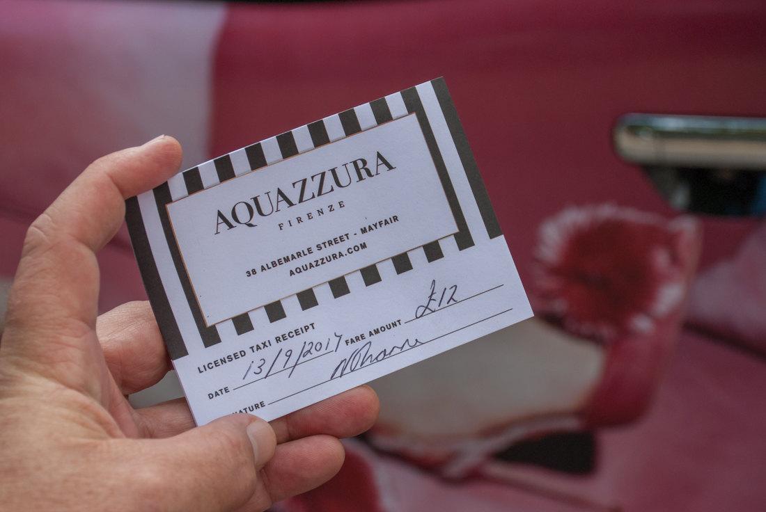 2017 Ubiquitous campaign for Aquazzura - 38 Albemarle St - Mayfair