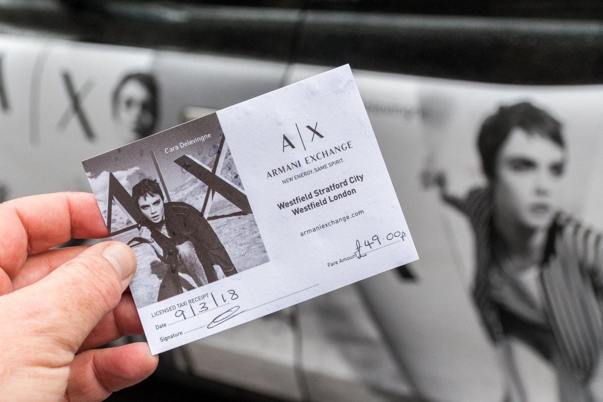 2018 Ubiquitous campaign for Armani - Armani Exchange