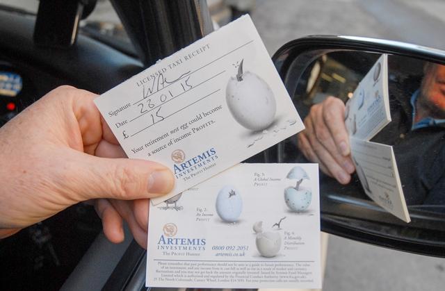 2015 Ubiquitous campaign for Artemis - The Profit Hunter