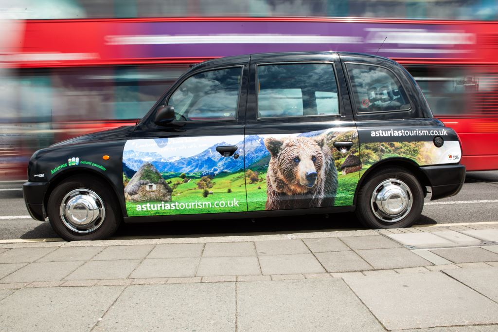 2014 Ubiquitous campaign for Asturias  - Natural Paradise