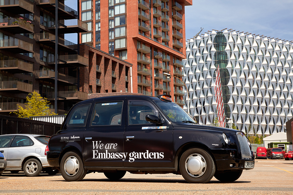 2017 Ubiquitous campaign for Ballymore - We Are Embassy Gardens