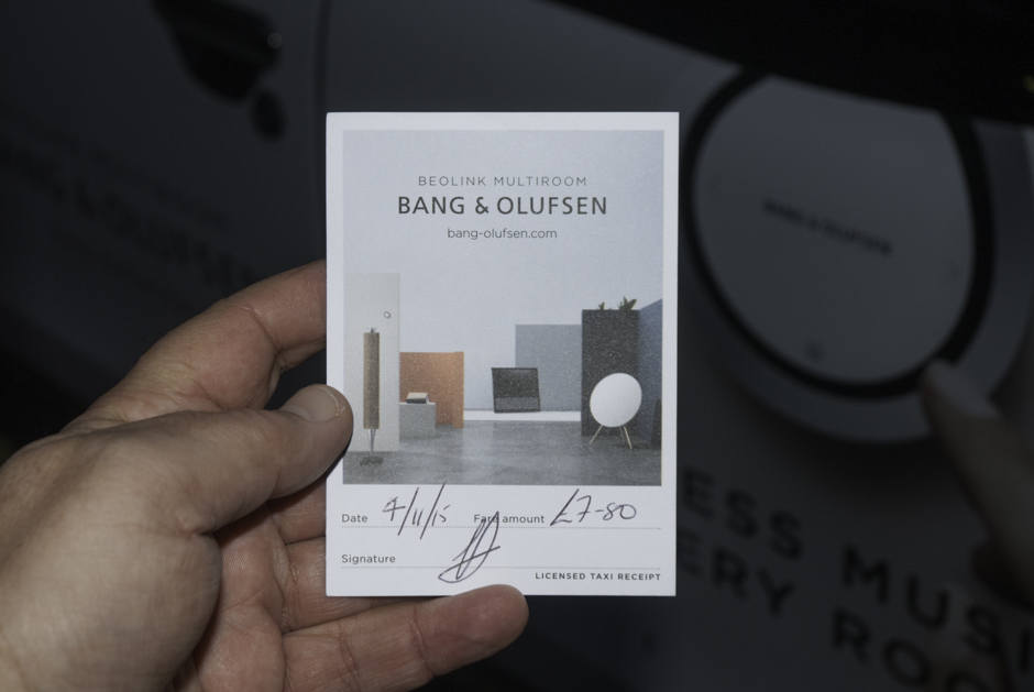 2015 Ubiquitous campaign for Bang & Olufsen - Wireless music in every room