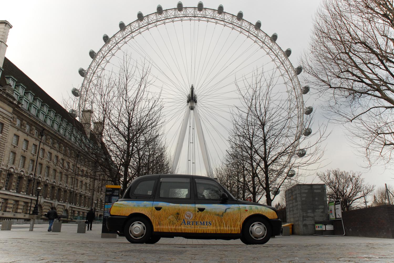2007 Ubiquitous taxi advertising campaign for Artemis - Various