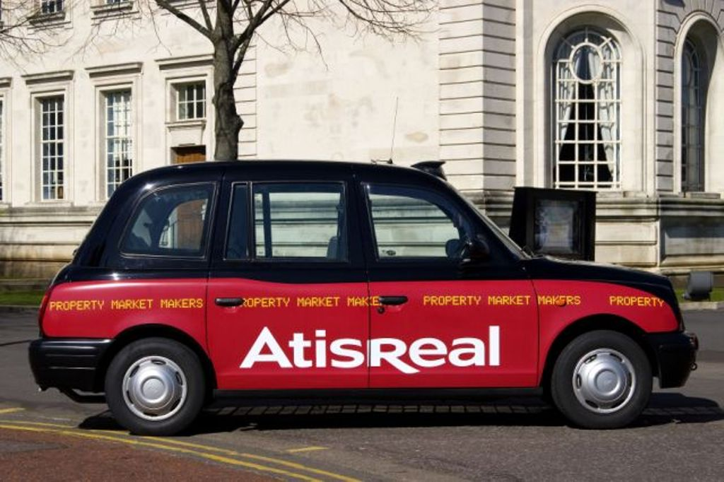 2007 Ubiquitous taxi advertising campaign for AtisReal - Property Market