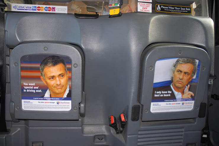 2012 Ubiquitous taxi advertising campaign for Henderson - The Other Special Manager