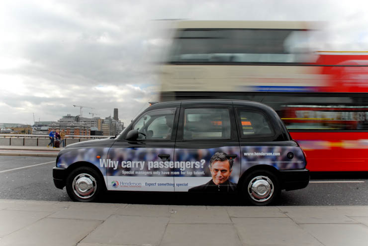 2012 Ubiquitous taxi advertising campaign for Henderson - Expect something special