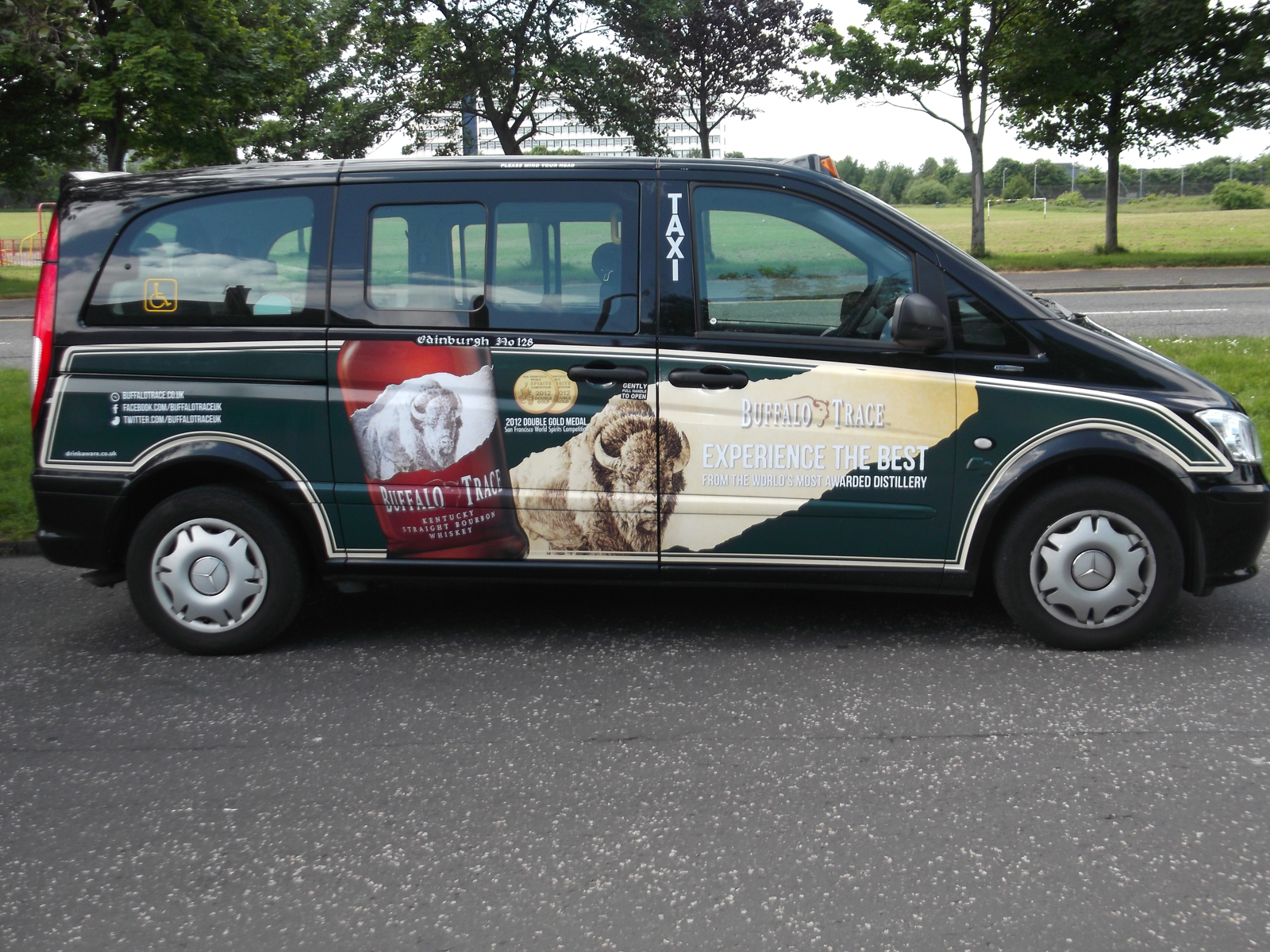 2013 Ubiquitous taxi advertising campaign for Hi Spirits - Hi Spirits