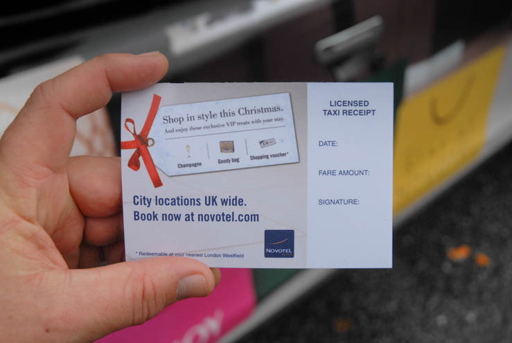 2013 Ubiquitous campaign for Novotel - Enjoy Christmas shopping with a stay at Novotel