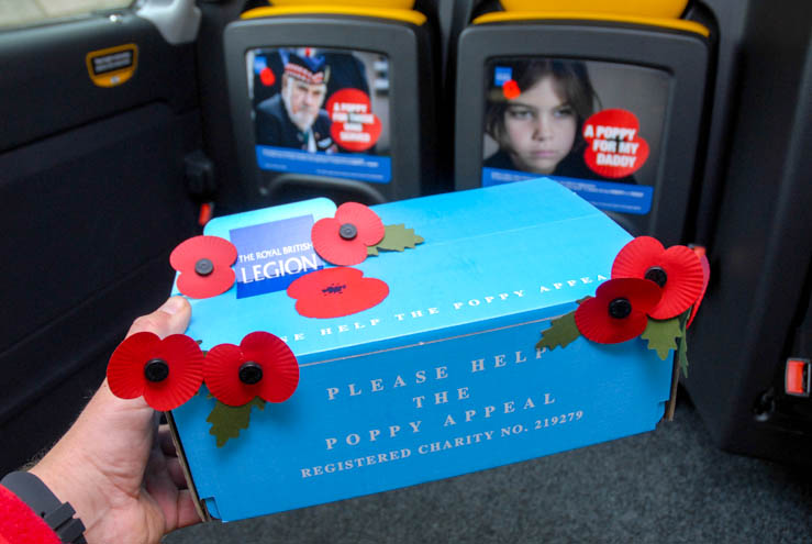 2013 Ubiquitous campaign for Royal British Legion - A poppy for those who serve