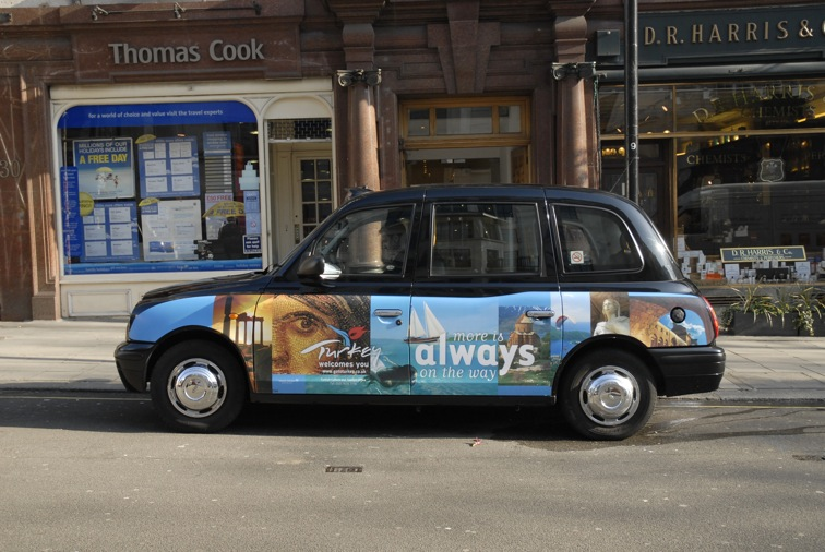 2007 Ubiquitous taxi advertising campaign for Turkish Tourist Board - More is Always on the Way