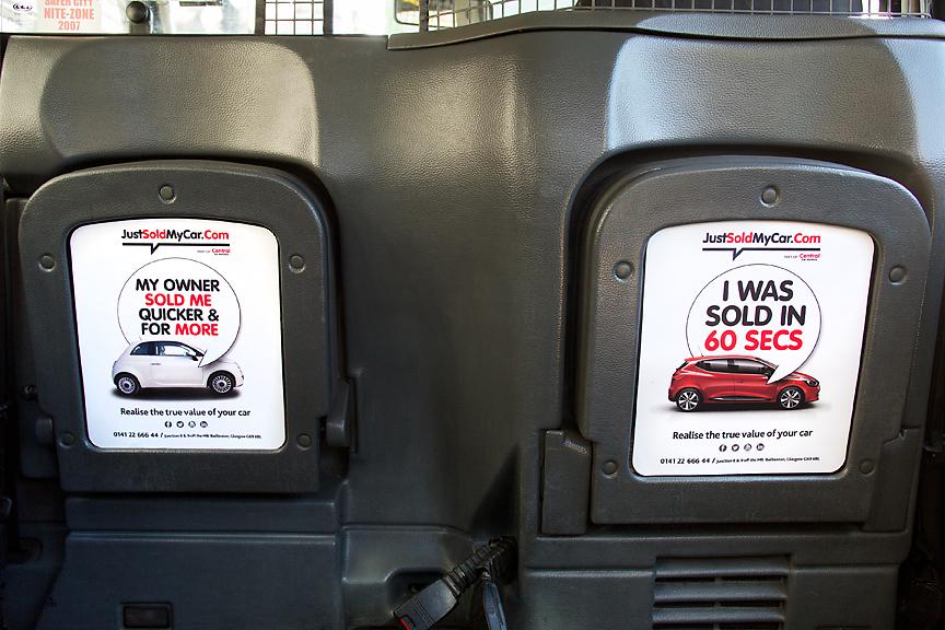 2018 Ubiquitous campaign for Central Car Auction - JustSoldMyCar.Com