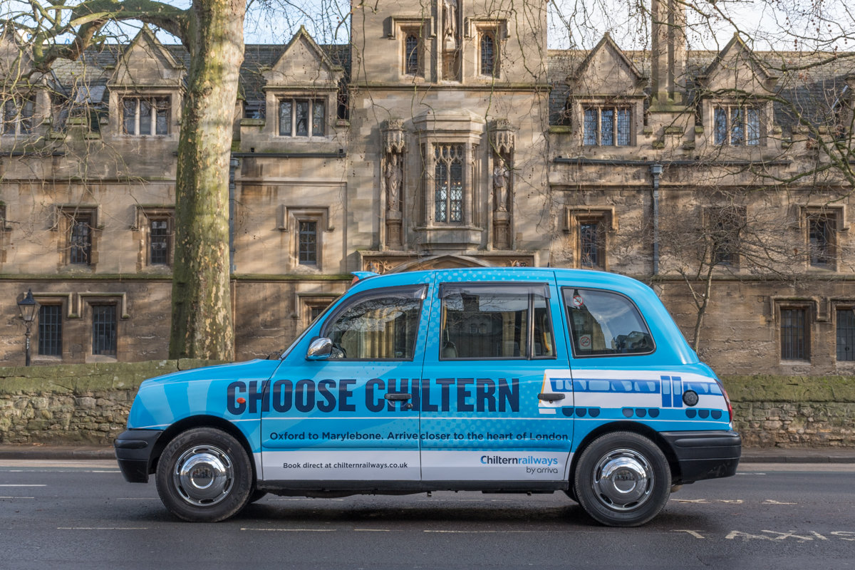2018 Ubiquitous campaign for Chiltern Railways - CHOOSE CHILTERN