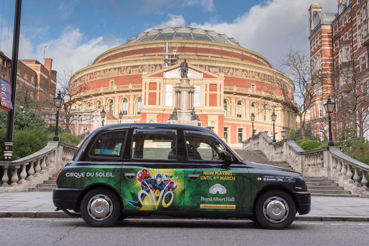 2018 Ubiquitous campaign for Cirque Du Soleil - OVO