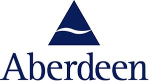 Ubiquitous Taxi Advertising client Aberdeen Asset Management   logo