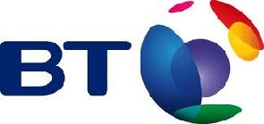 Ubiquitous Taxi Advertising client BT  logo