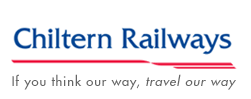 Ubiquitous Taxi Advertising client Chiltern Railways  logo