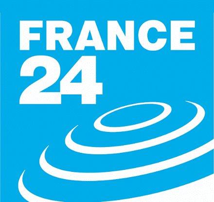 Ubiquitous Taxi Advertising client France 24  logo