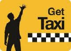 Ubiquitous Taxi Advertising client Get Taxi  logo