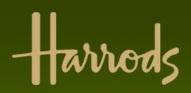 Ubiquitous Taxi Advertising client Harrods  logo