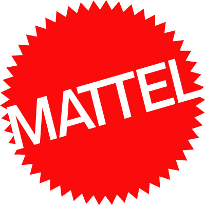 Ubiquitous Taxi Advertising client Mattel   logo