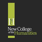 Ubiquitous Taxi Advertising client New College of the Humanities  logo