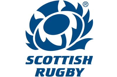 Ubiquitous Taxi Advertising client Scottish Rugby  logo