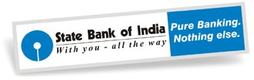 Ubiquitous Taxi Advertising client State Bank of India  logo