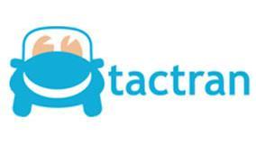 Ubiquitous Taxi Advertising client Tactran  logo