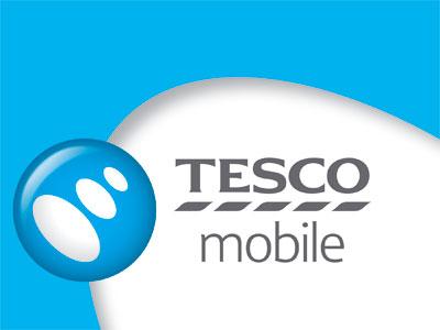 Ubiquitous Taxi Advertising client Tesco Mobile   logo
