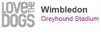 Ubiquitous Taxi Advertising client Wimbledon Greyhound Stadium  logo
