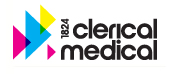 Ubiquitous Taxis client Clerical Medical  logo