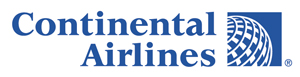 Ubiquitous Taxis client Continental Airlines  logo