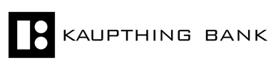 Ubiquitous Taxis client Kaupthing Bank  logo