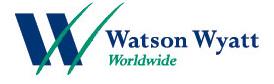 Ubiquitous Taxis client Watson Wyatt  logo