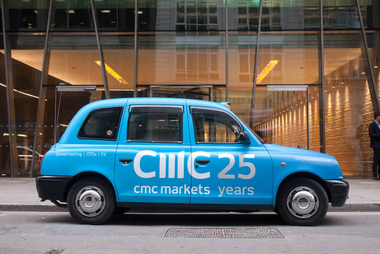 2014 Ubiquitous campaign for CMC Markets - 25 Years
