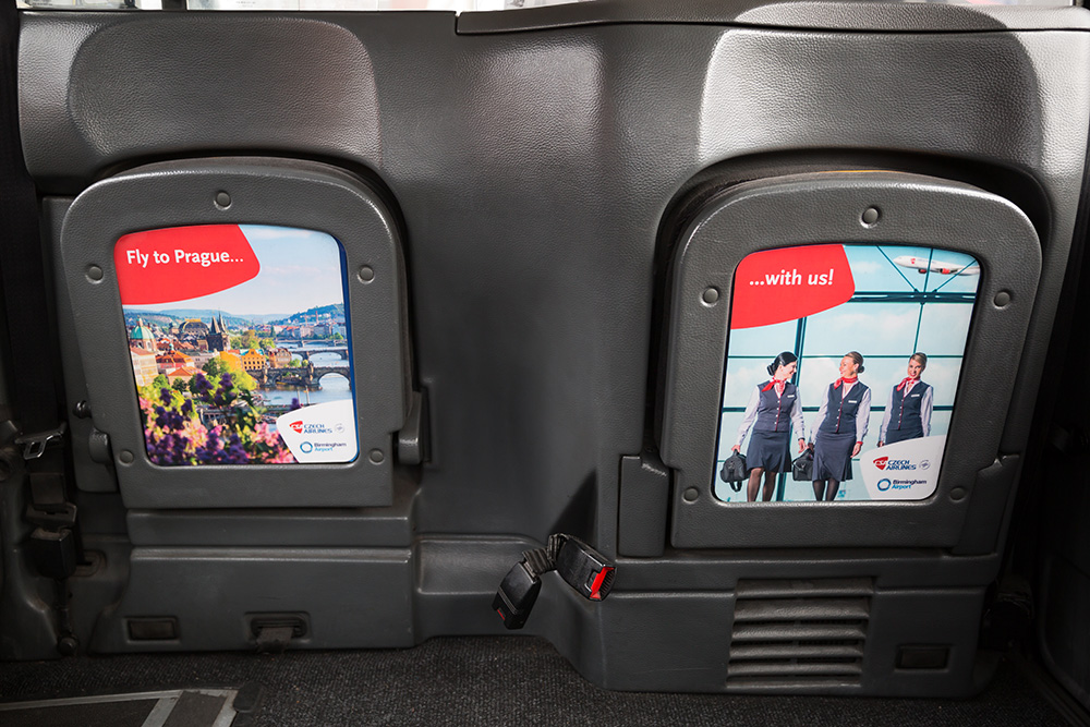 2016 Ubiquitous campaign for Birmingham Airport - Czech Airlines