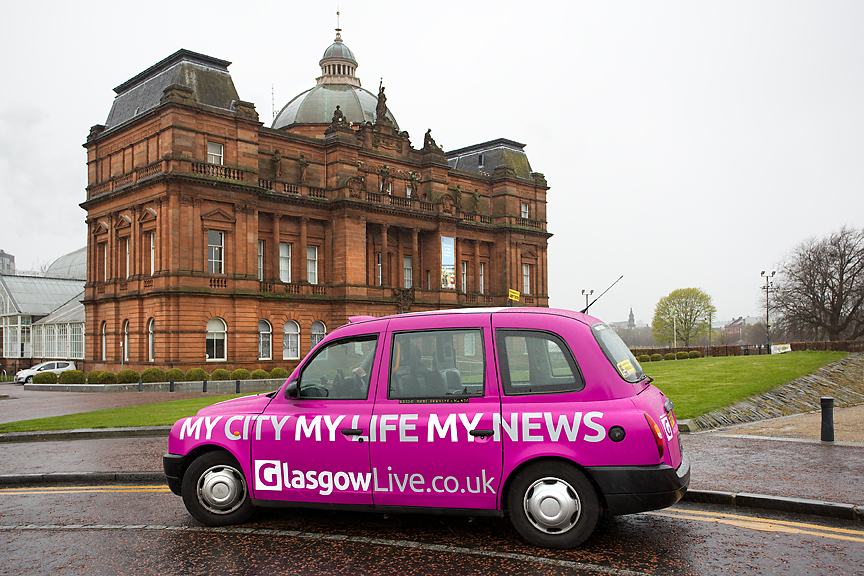 2016 Ubiquitous campaign for Daily Record - GlasgowLive.Co.Uk - My City. My Life. My News