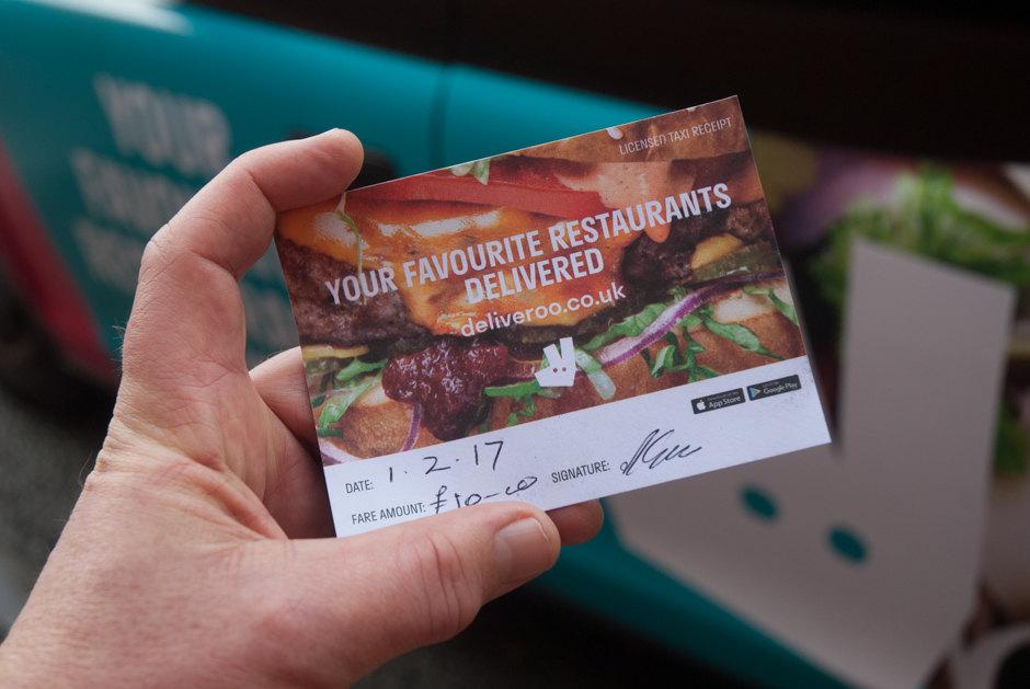 2017 Ubiquitous campaign for Deliveroo - Your Favorite Restaurants Delivered.