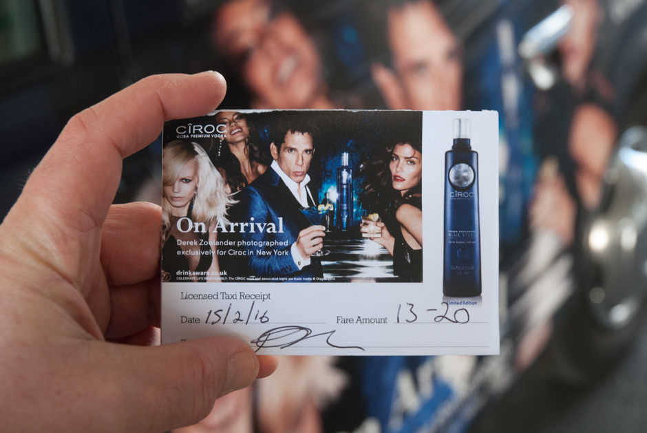 2016 Ubiquitous campaign for Diageo - Ciroc Blue Steel