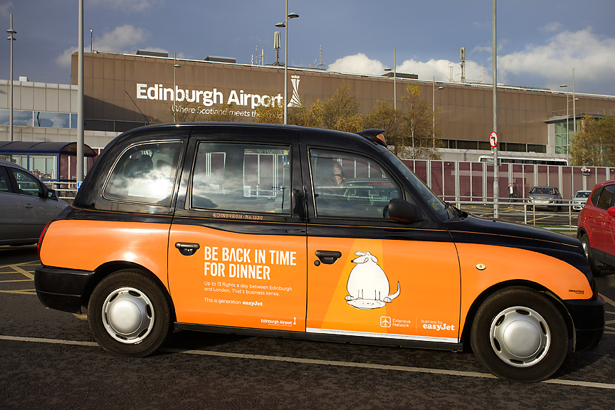 2014 Ubiquitous campaign for easyJet - Get Home in Time for Dinner