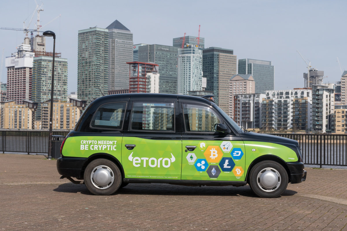 2018 Ubiquitous campaign for eToro - Crypto Needn't Be Cryptic