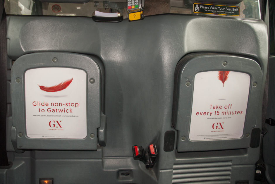 2016 Ubiquitous campaign for Gatwick Express - Glide Non Stop