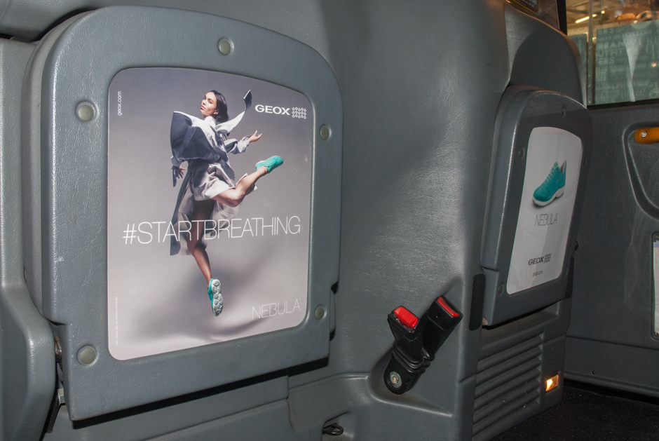 2016 Ubiquitous campaign for GEOX - #StartBreathing