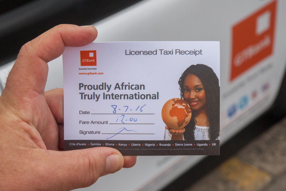 2016 Ubiquitous campaign for GT Bank - Proudly African. Truly International.