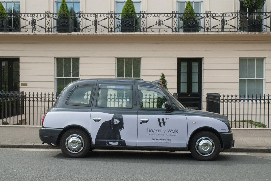 2017 Ubiquitous campaign for Hackney Walk - London's Luxury Outlet District