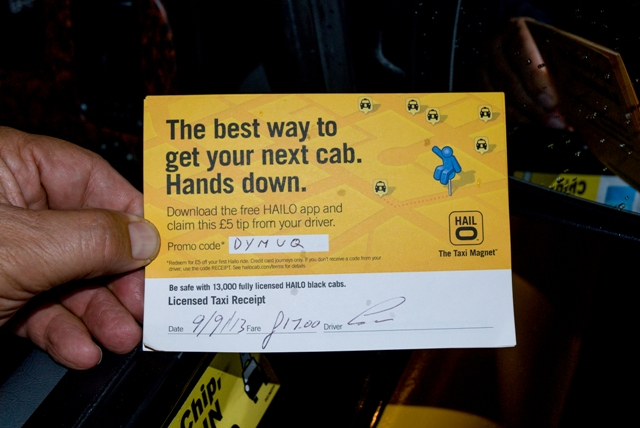 2013 Ubiquitous campaign for Hailo - The Taxi Magnet